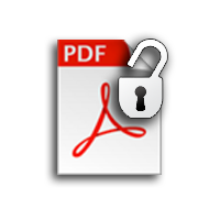 PDF File Restriction Remover To Withdraws Security From PDF File - Image 1