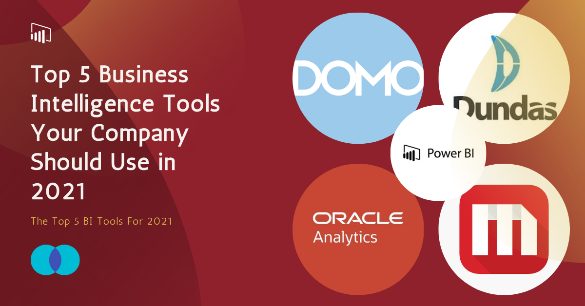 Top 5 Business Intelligence Tools Your Company Should Use in 2021 - Image 1