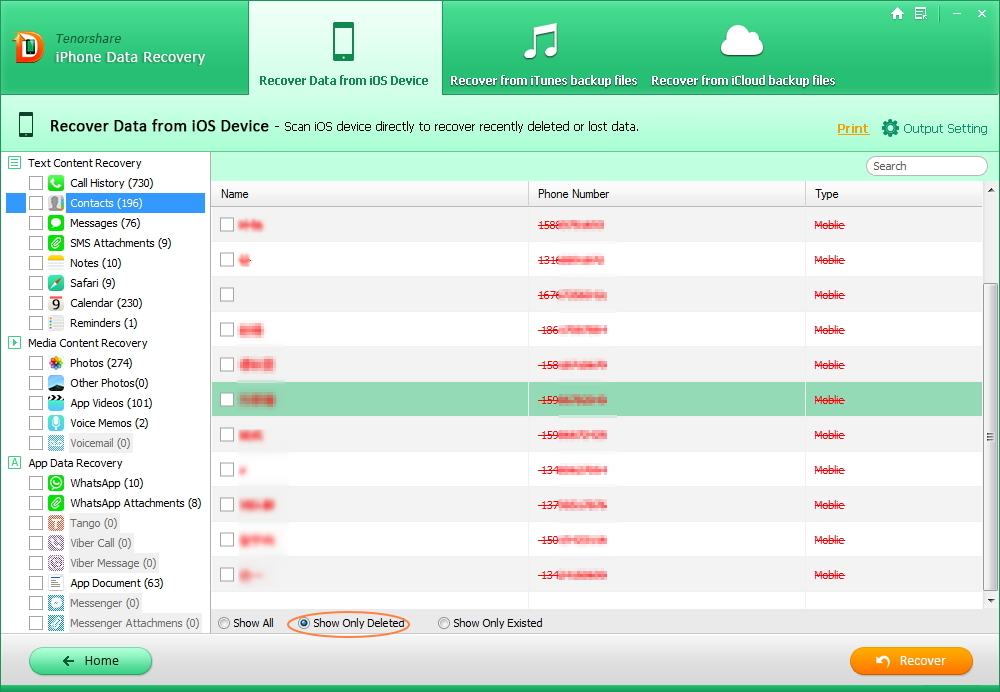 How to Recover iPhone Contacts after iOS 9 Upgrade - Image 2