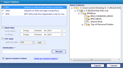 OST Recovery Software to Recover Corrupted OST Files into Outlook - Image 3