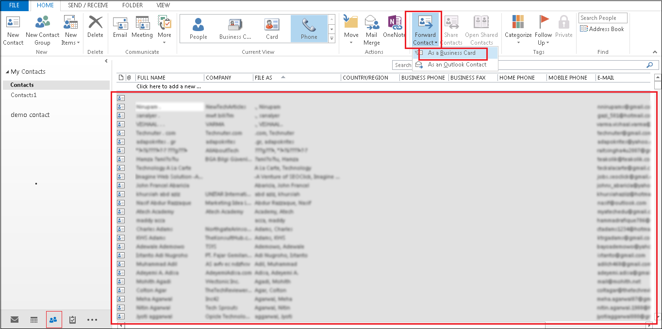 Move Outlook data to access emails from other email clients - Image 2