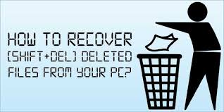 Restore or Undelete Files by shift+del+enter deleted files. - Image 1