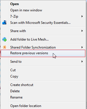 Restore or Undelete Files by shift+del+enter deleted files. - Image 2