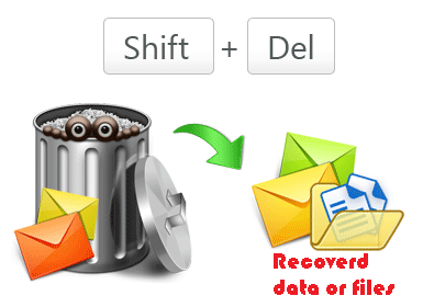 Restore or Undelete Files by shift+del+enter deleted files. - Image 4