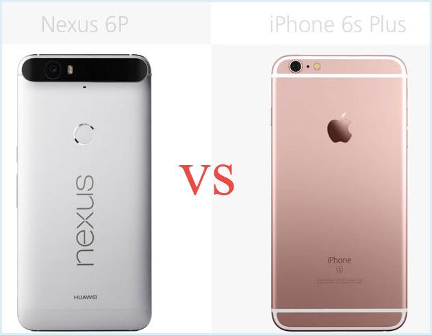 Nexus 6P VS iPhone 6S Plus - Image 1