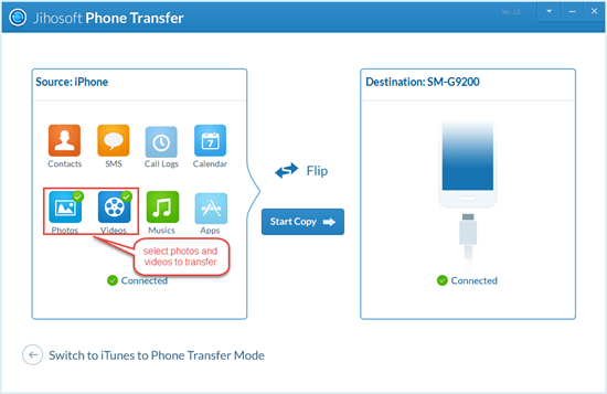 How to transfer photos and videos from iPhone to Android? - Image 1