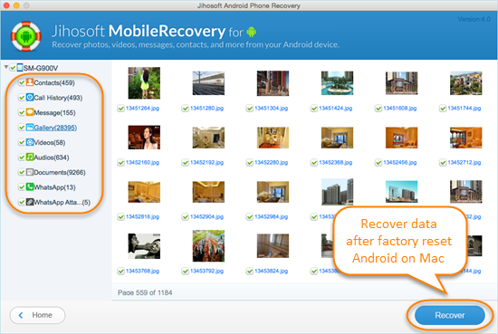 How to Recover Data after Factory Reset Android on Mac - Image 3