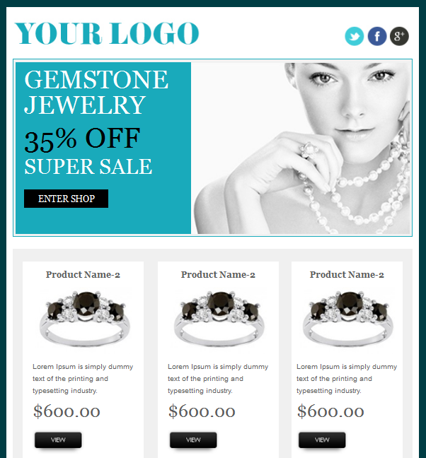 Effective Tips To Design Appealing E-commerce Email Templates ...