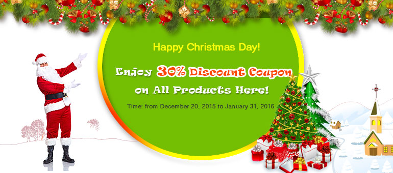 Holiday sales! 30% discount coupon on all products of MobiKin - Image 1