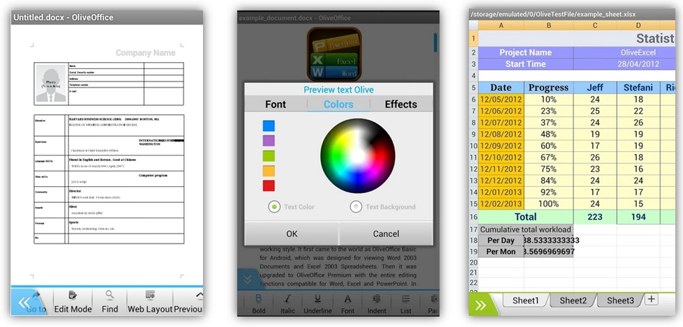 Free Android apps to edit your documents on the go. - Image 2