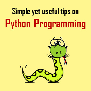 Tips on Python Programming