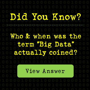Who actually coined the term Big Data?