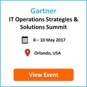 Gartner IT Operations Strategies & Solutions Summit