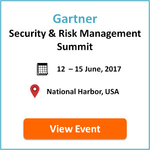 Gartner Security & Risk Management Summit USA