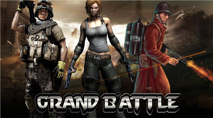 Grand Battle - Android Epic Strategy MMO Game Overview - Image 1