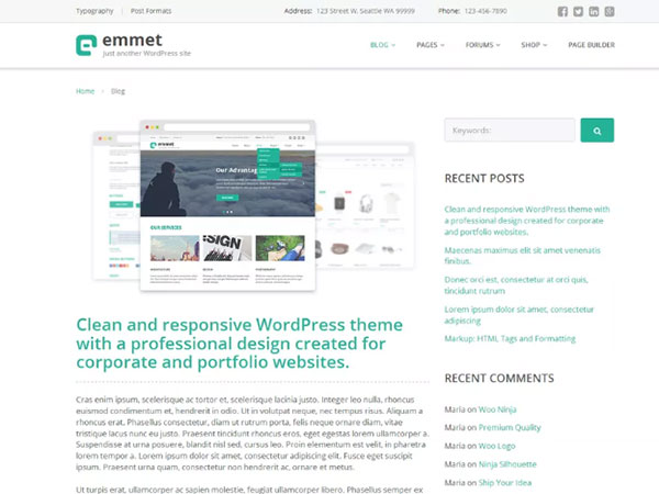 10 Awesome education Free WordPress Website Themes - Image 9