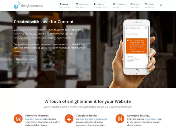10 Awesome education Free WordPress Website Themes - Image 10