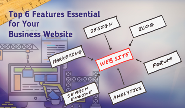 Top 6 Features Essential for Your Business Website - Image 1