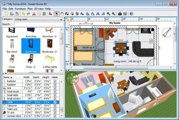 Top 3d software applications for interior designing 2217 for My home design software