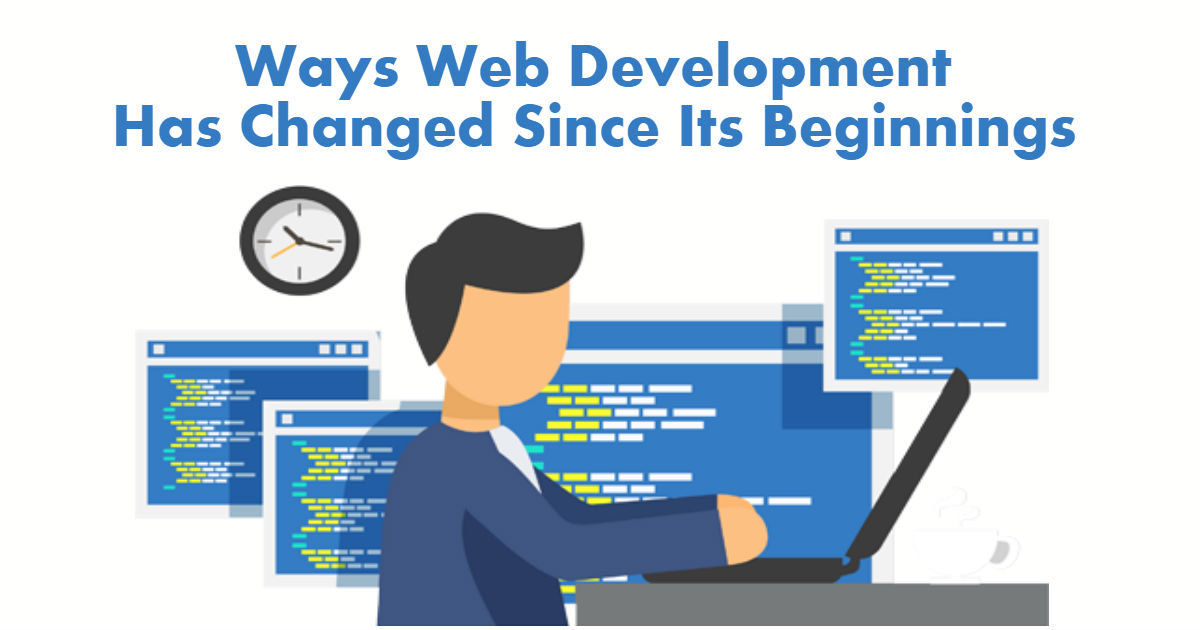 5 Ways Web Development Industry Changed Since It's Beginnings - Image 1