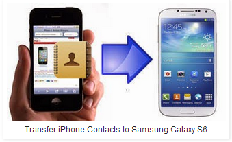 How to Switch iPhone Contacts to Samsung Galaxy S6 - Image 1