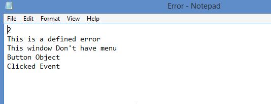Log Errors in PowerBuilder - Image 1