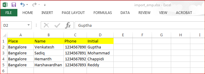 Import Data From Excel to Datawindow in PowerBuilder - Image 1