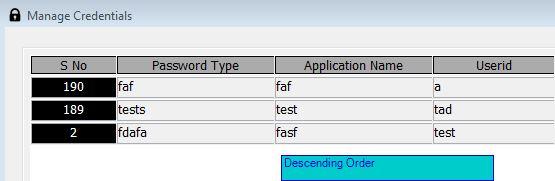 Sort Datawindow on clicking the Datawindow Header in PowerBuilder - Image 1