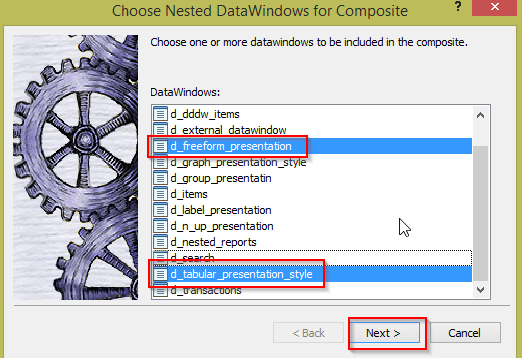Pass Multiple Retrieval Arguments to Multiple dataobjects in CompositeDataWindow in PowerBuilder - Image 2