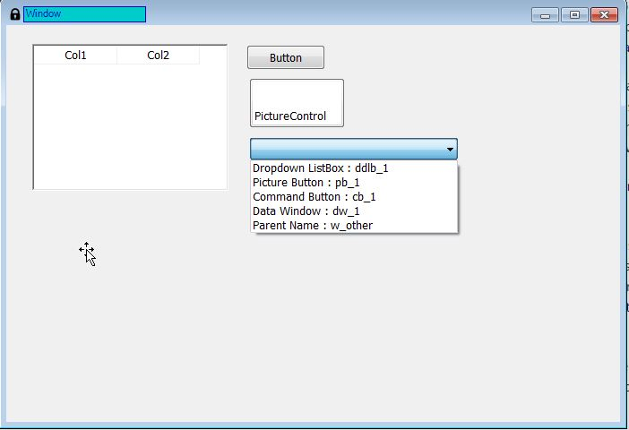 Iterate through PowerBuilder - Windowcontrols - Image 1
