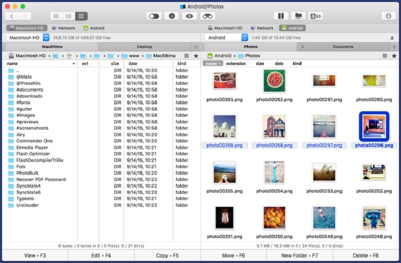 Commander One Review: Smooth Android File Transfer - Image 1