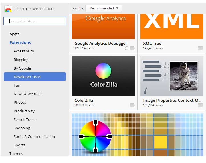 Colorzilla for Chrome - Image 1
