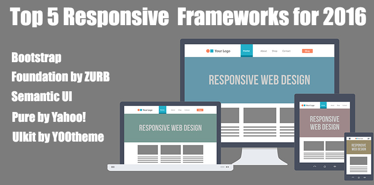 Top 5 Responsive Frameworks for 2016 - Image 1