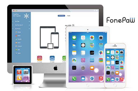 FonePaw Brings an Easy File Transfer Solution to iPhone, iPad and iPod - Image 1