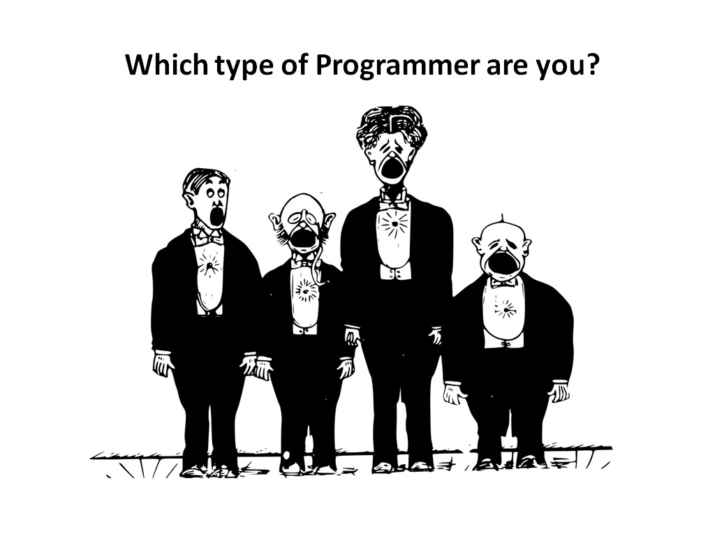 The 4 different areas of programming - Image 1