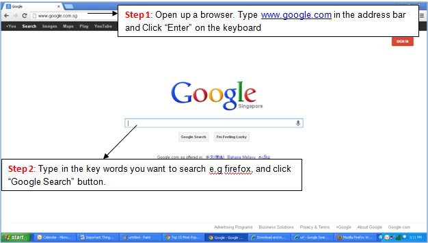 Basic Tutorial - Web Browsers and Search Engine- Google Search & Usage - Image 6