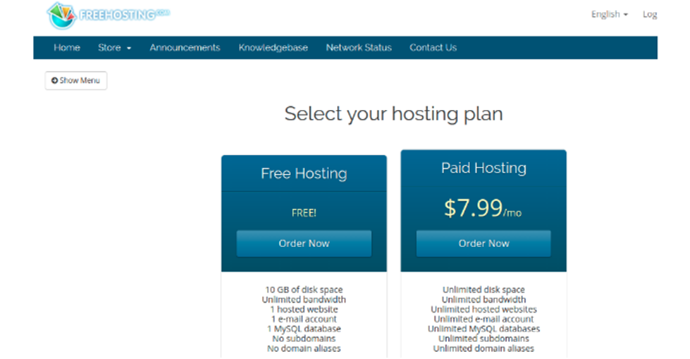 5 Best Free Hosting Platforms to Host Your WordPress - Image 5
