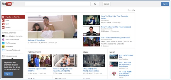 Basic guide to using YouTube - Image 1