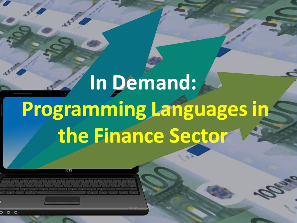 Programming Languages that are in demand in the Financial Sector - Image 1