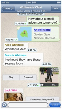 How to use Whatsapp on an iPhone - Image 7
