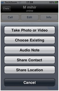 How to use Whatsapp on an iPhone - Image 9