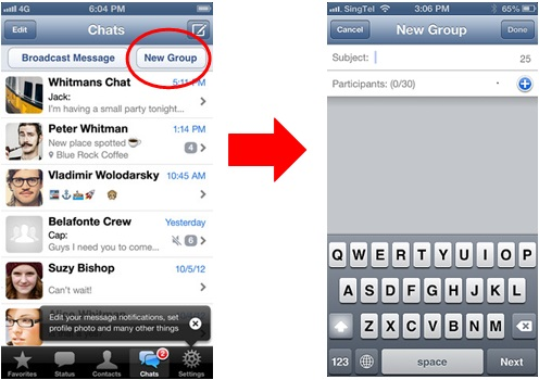 How to use Whatsapp on an iPhone - Image 13
