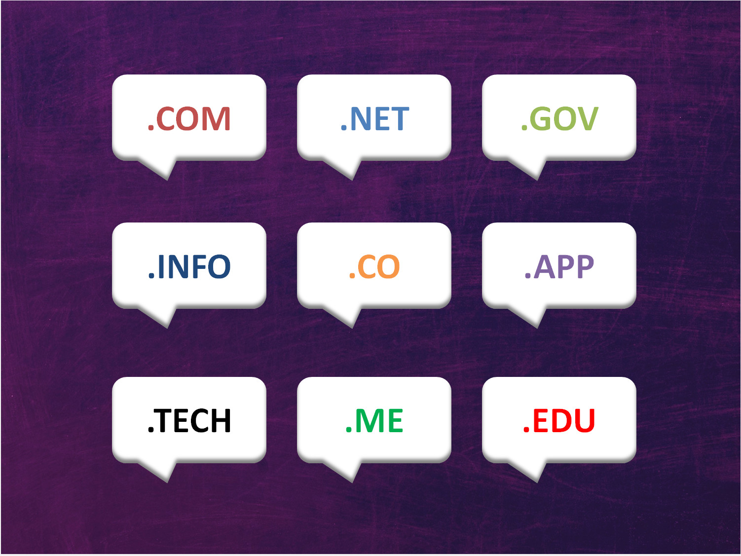 5 Uncommon Top Level Domain names and why you should consider them - Image 1