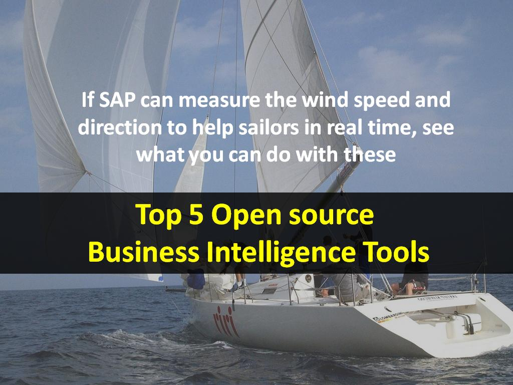Top 5 Open Source Business Intelligence Tools - Image 1