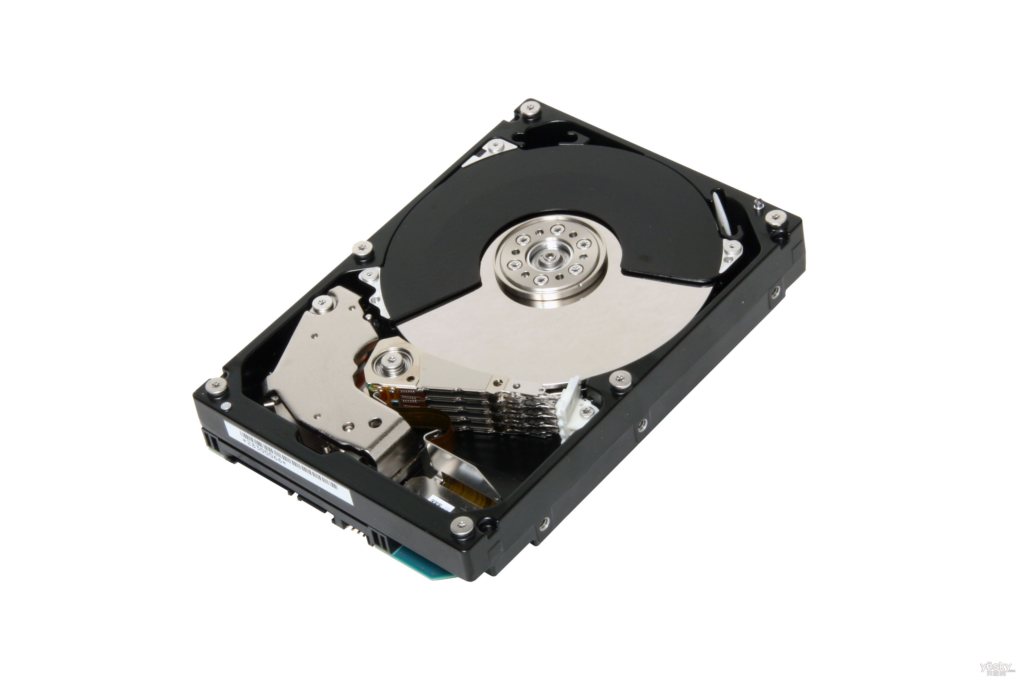 A Look at the Toshiba 2TB SATA 3.5âinch Computer Hard Drive - Image 1