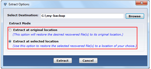 BKF Recovery Software Recovering Corrupt Windows Backup Files! - Image 4