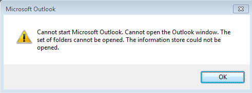 Best 5 Solution to Fix Cannot Start Microsoft Outlook Error Quickly - Image 1
