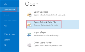 How to Join Multiple PST Files in Microsoft Outlook 2016, 2013, 2010 - Image 2