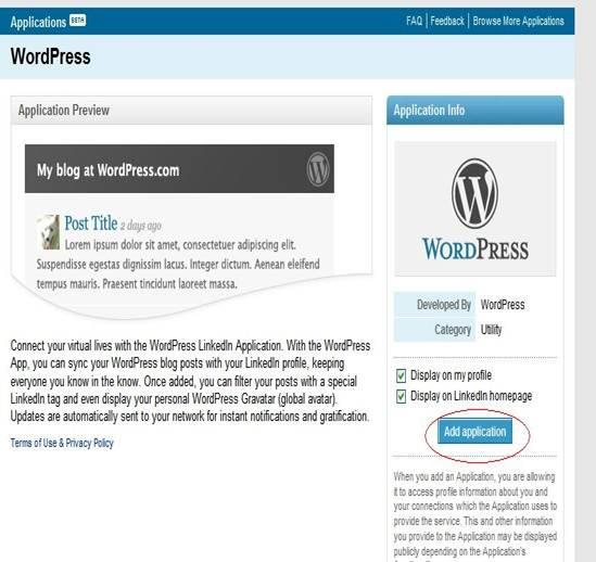 7 Steps for Connect WP Blog and LinkedIn - Image 3