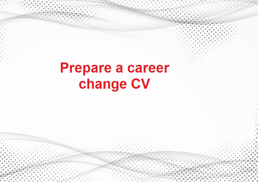 Making a mid-career change? (fourth step) - Image 1
